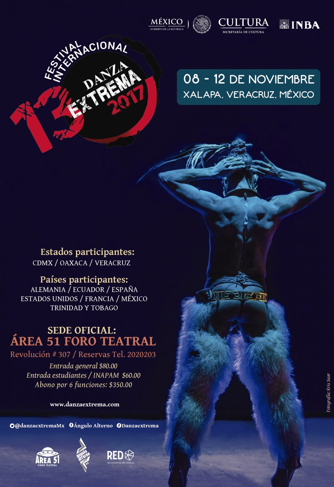 DanzaExtrema Cartel 2017